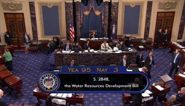 WRDA Senate vote count