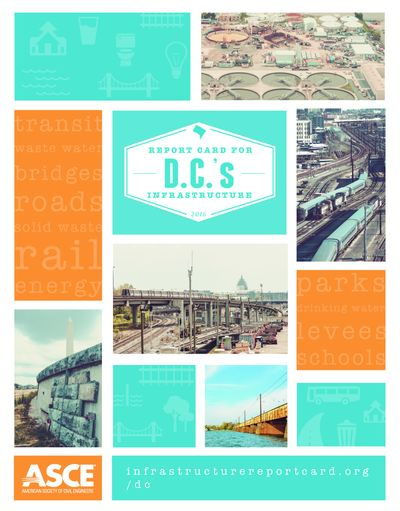 report card for D.C.'s infrastructure 2016